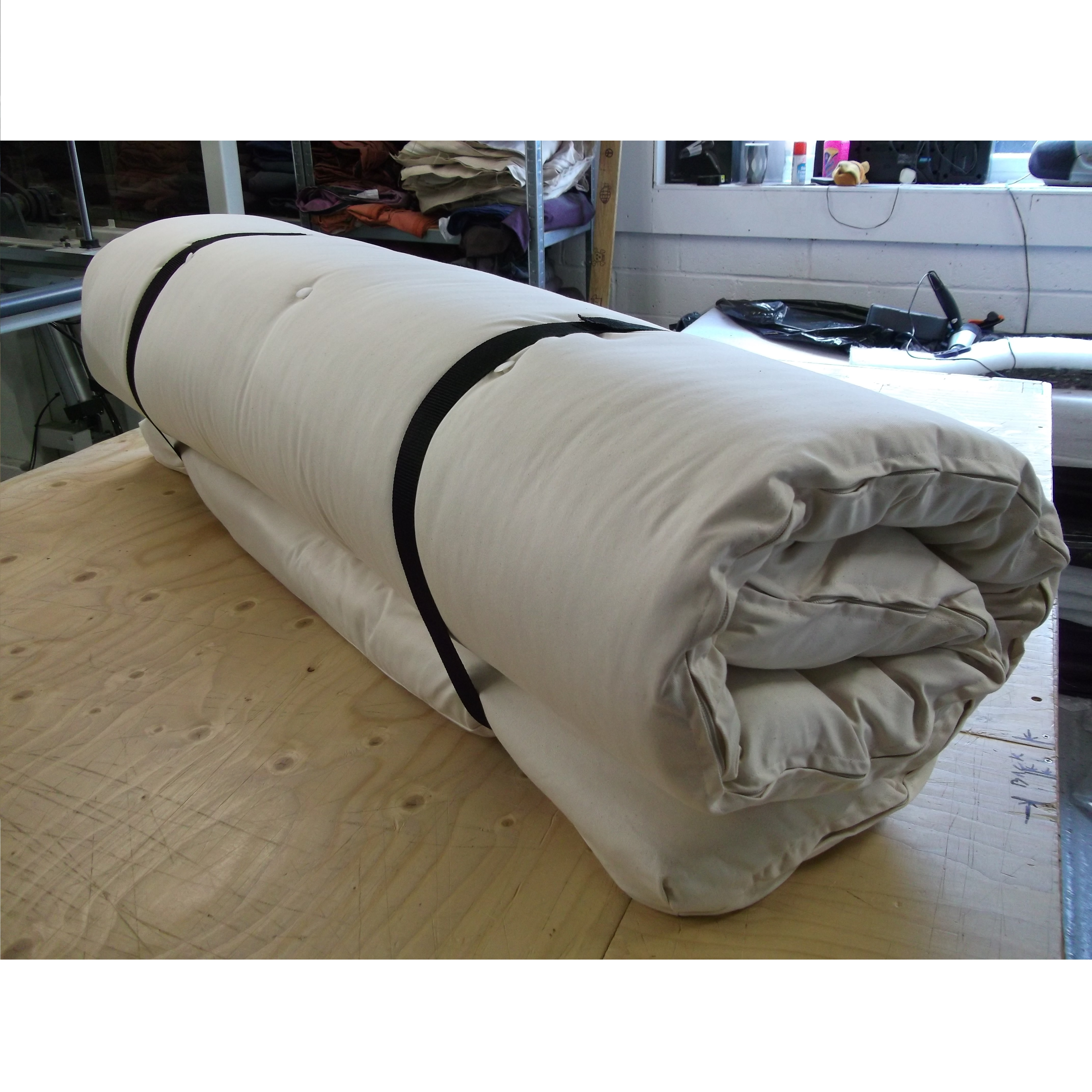 Monk Futon Roll Large Single Or Double Roll Up Futon